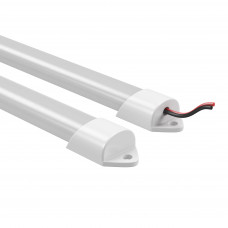 409022 Лента в PVC-профиле PROFILED 400022 12V 19.2W 240LED 3000K п-кругл.расс.мат-л: пластик,1шт=2м