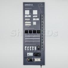 Стенд Управление светильниками DMX512 E34 1760x600mm (DB 3мм, пленка, лого) (Arlight, -)