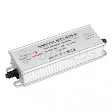 Блок питания ARPV-48200-A1 (48V, 4.2A, 200W) (Arlight, IP67 Металл, 3 года)
