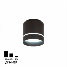 CL745021N Борн Черный Св-к Потол. 12W*4000K