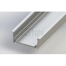 Встраиваемый алюминиевый профиль GS 8232 (без экрана) 2.0