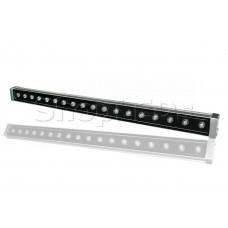 Линейный светодиодный прожектор Wallwasher IM-18W-White (220V, 980mm, 18W, белый)