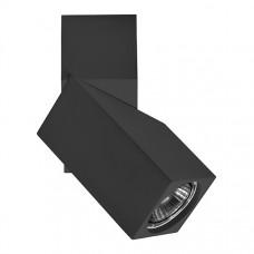 051057 Светильник ILLUMO HP16  ЧЕРНЫЙ IP20 (в комплекте)