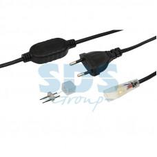 Установочный комплект для LED ленты 220 В 6.5x15 мм, до 100 м
