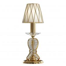 705912 (MT200003-1) Настольная лампа RICCIO 1х40W E14 24K золото (в комплекте)