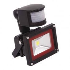 Прожектор с датчиком движения теплый 10W 115*160*85 WW