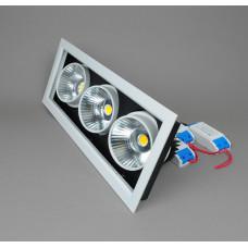 110-3-COB30- 6000K (WH) Светодиодный светильник (Холодный белый)