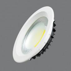 7480-20W-3000K Светильник встраиваемый,круглый,LED,20W