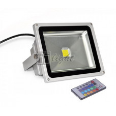 Светодиодный прожектор 20W IP65 220V RGB